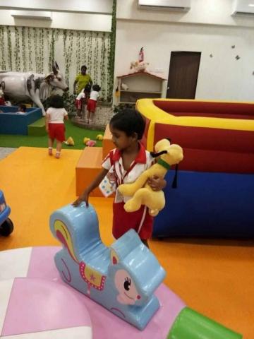 VES DBC Nursery's picnic to Kingdom of Fun.